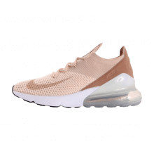 Nike Women's Air Max 270 Flyknit Guava Ice/Particle Beige