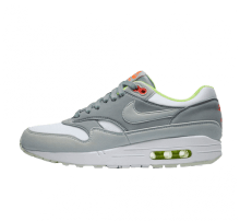 Nike Women's Air Max 1 White/Barely Grey-Light Pumice-Volt