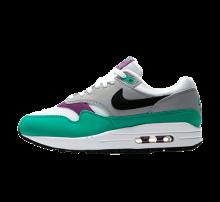 Nike Women's Air Max 1 White/Black-Wolf Grey-Clear Emerald
