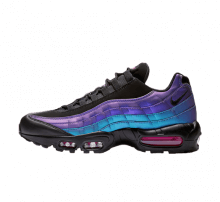 Nike Air Max 95 Premium Black/Laser Fuchsia