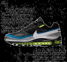 Nike Air Max 97/BW Black/White-Metallic Silver