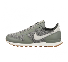 Nike Women's Internationalist Dark Stucco/Light Bone-Sequoia
