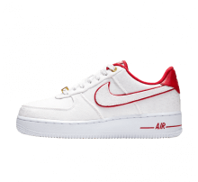 Nike Women's Air Force 1 '07 LX White/University Red