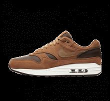Nike Air Max 1 Premium Leather Ale Brown/Golden Beige-Baroque Brown