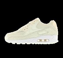 Nike WMNS Air Max 90 PRM LEA Sail/Sail-Light Bone-White