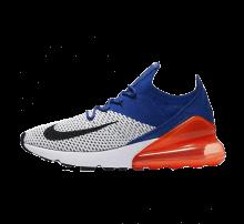 Nike Air Max 270 Flyknit White/Black-Racer Blue