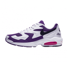 Nike Air Max2 Light White/Black-Court Purple-Hyper Pink
