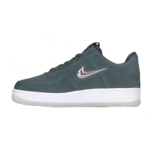 Nike Women's Air Force 1 '07 Premium LX Faded Spruce/Metallic Silver