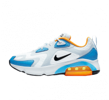 Nike Women's Air Max 200 White/Black-Half Blue