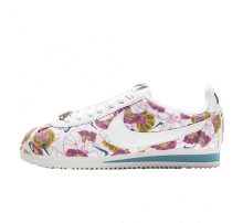 Nike Women's Classic Cortez LX White/Hyper Pink-Green Abyss