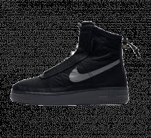 Nike Women's Air Force 1 Shell Black/Dark Grey