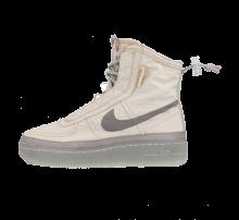 Nike Women's Air Force 1 Shell Desert Sand/Atmosphere Grey-Spruce Aura