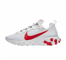 Nike React Element 55 SE White/University Red