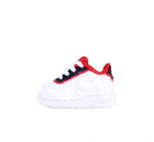 Nike Force 1 LV8 1 DBL TD White/Obsidian-University Red