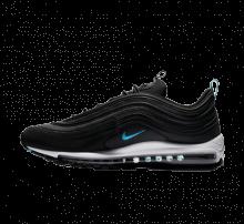 Nike Air Max 97 Black/Blue Fury/Dark Grey