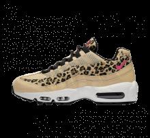 Nike Women's Air Max 95 Premium Desert Ore/Laser Fuchsia-Black