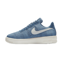 Nike Air Force 1 Flyknit 2.0 Ocean Fog/Summit White-Work Blue
