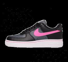 Nike Women's Air Force 1 Lo Black/Pink Blast-Dark Grey