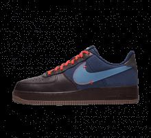 Nike Air Force 1 Premium Burgundy Ash/Blue