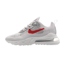 Nike Air Max 270 React Neutral Grey/University Red
