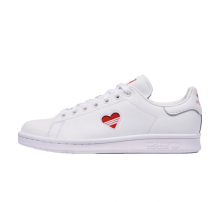 Adidas Women's Stan Smith White/Red