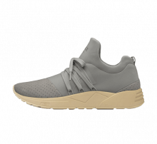 Arkk Women's Raven Nubuck S-E15 Grey/Tan