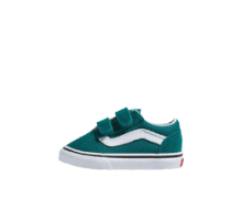Vans Old Skool V Quetzal Green/True White