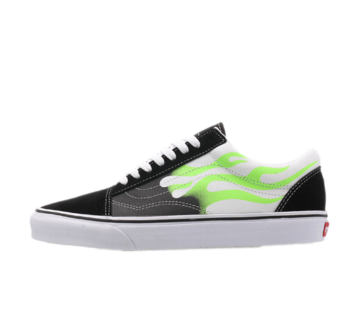 vans flame old skool shoes