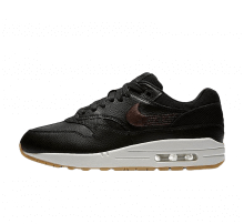 Nike Women's Air Max 1 Premium Black/Gum-White