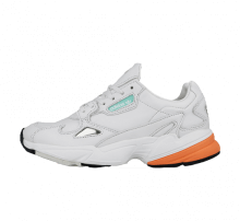 Adidas Women's Falcon Crystal White/Easy Orange