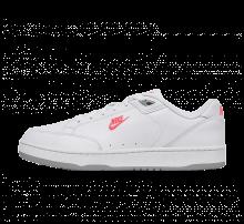 Nike Grandstand II Premium White/Solar Red-Wolf Grey