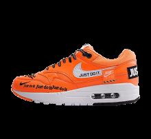 Nike Women's Air Max 1 LUX Just Do It Total Orange/White-Black