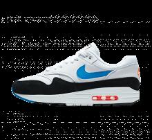 Nike Air Max 1 White/Photo Blue-total Orange