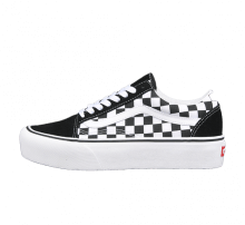 Vans Women's Old Skool Platform Checkerboard/Black/True White