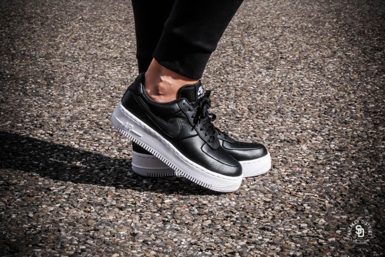 Nike Sportswear Air Force 1 Upstep Black/Black/White
