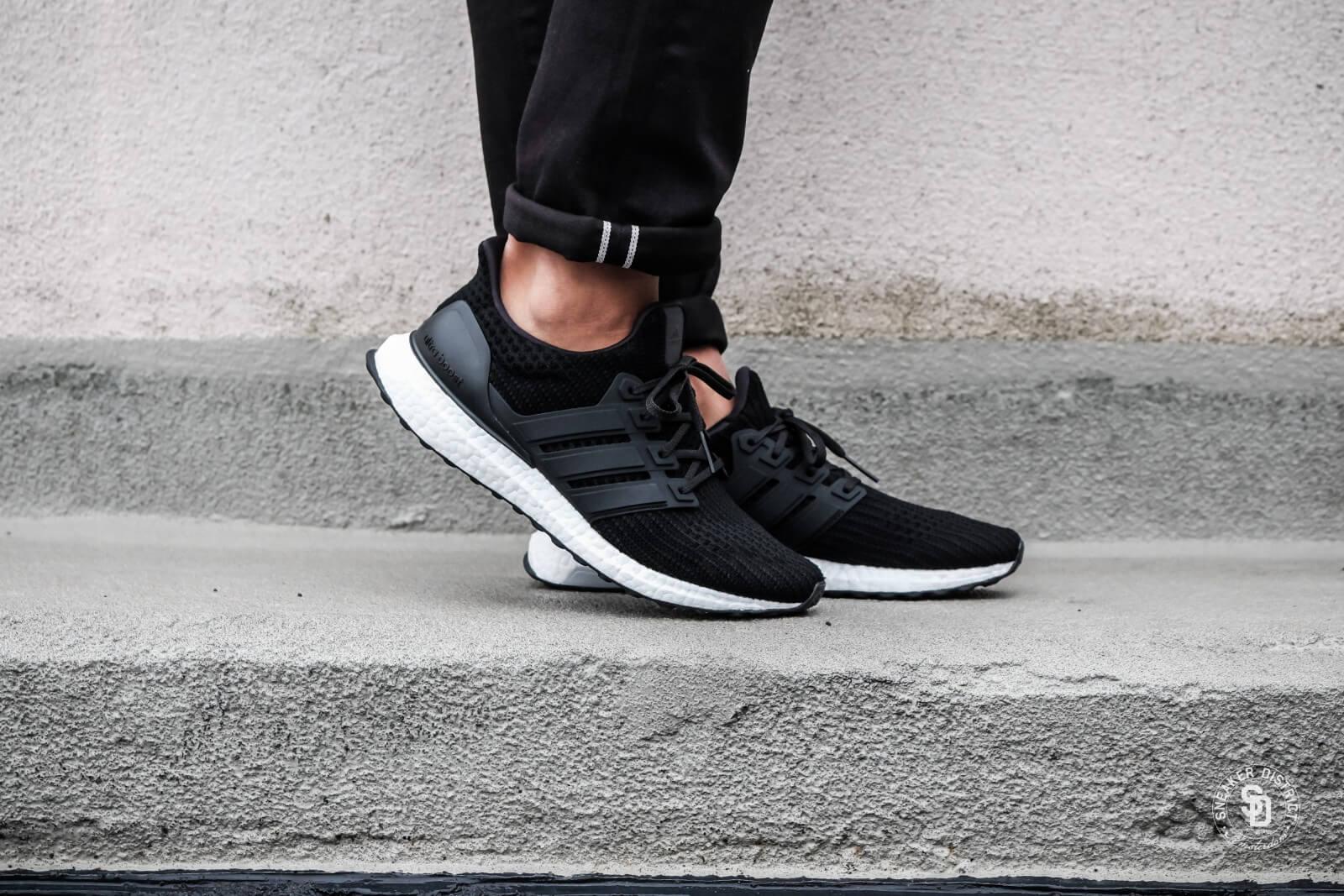 Adidas Ultra Boost 4 0 Core Black White Bb6166