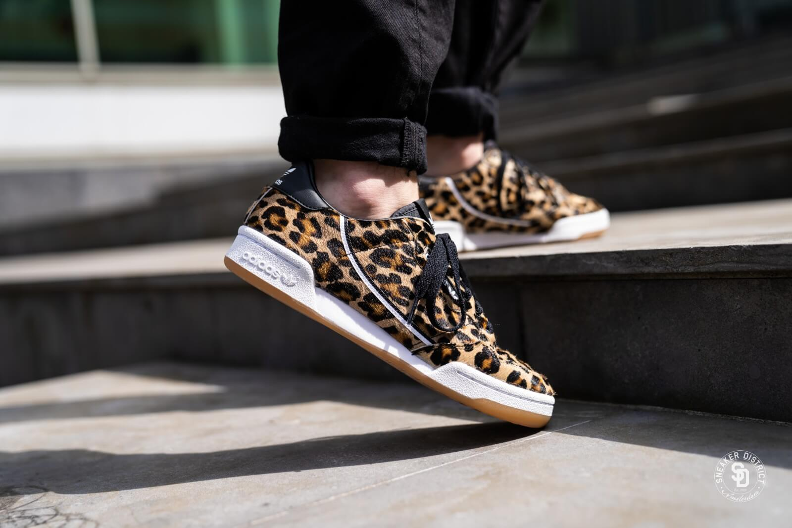 Adidas Continental 80 Leopard Core BlackFootwear White F33994