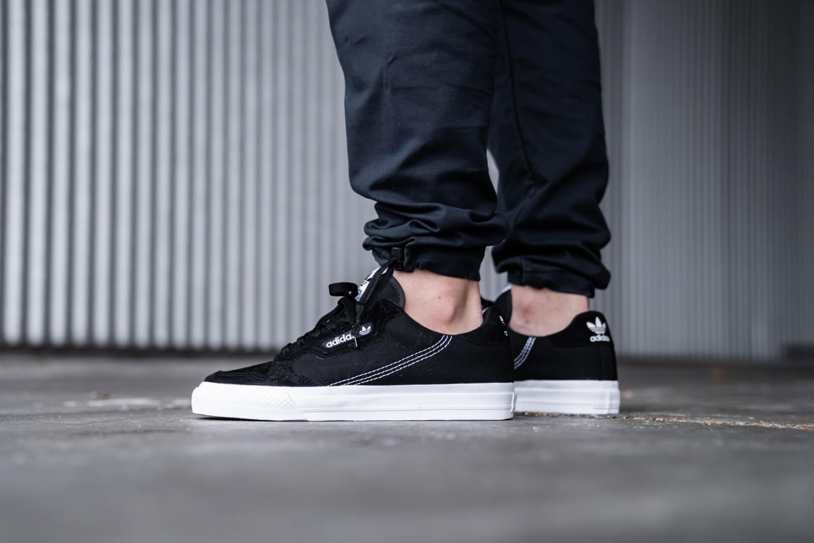 Adidas Continental Vulc Core Black/Footwear White