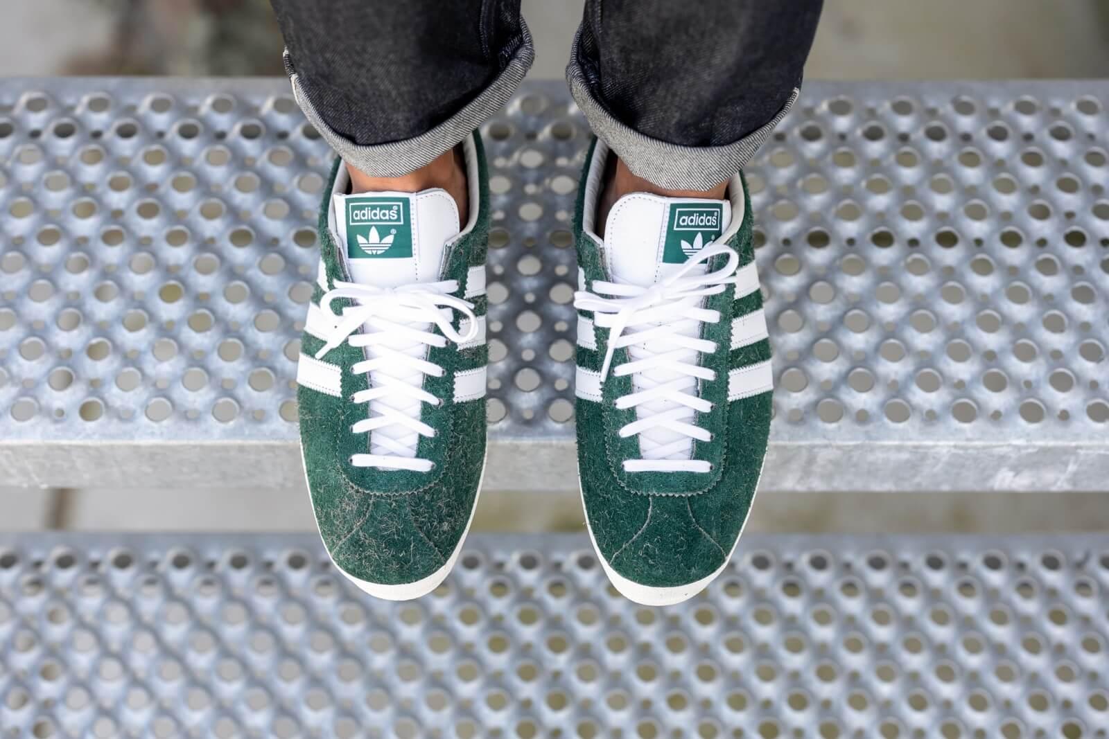 Adidas Gazelle Vintage Collegiate GreenCloud White Off White