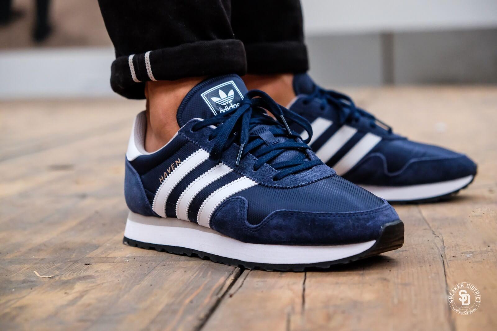 Adidas Adidas Haven Schuhe blau beige   Herren Damen Sneaker