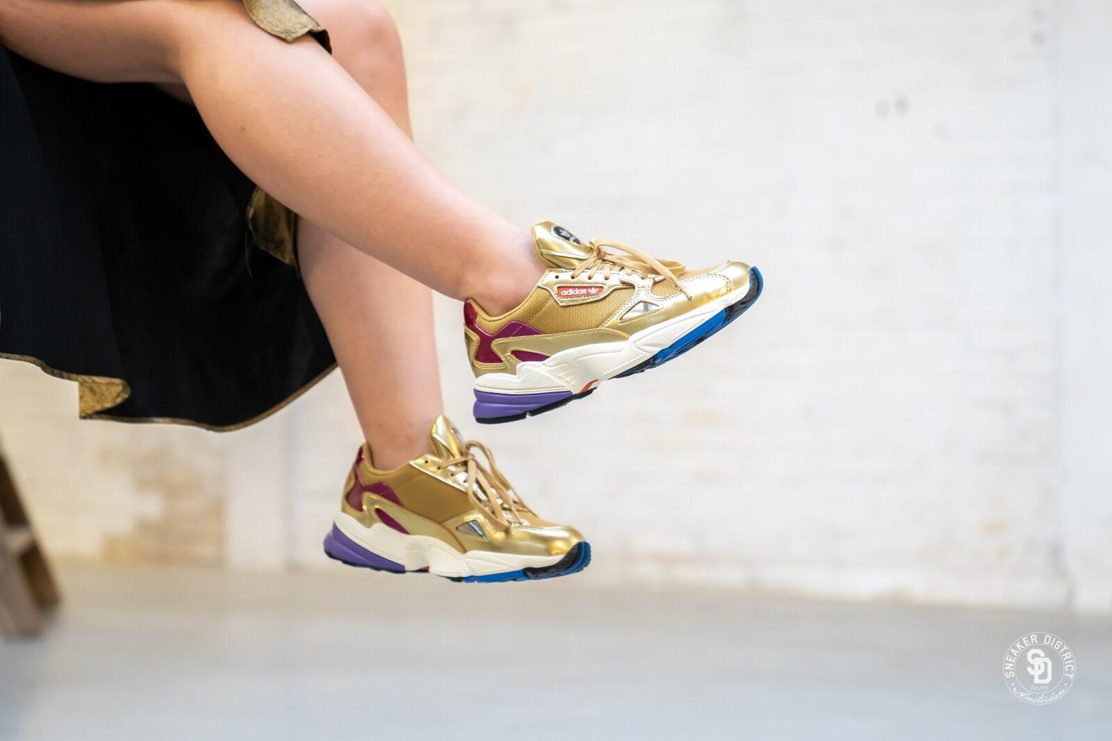 Adidas Women's Falcon Gold MetallicOff White