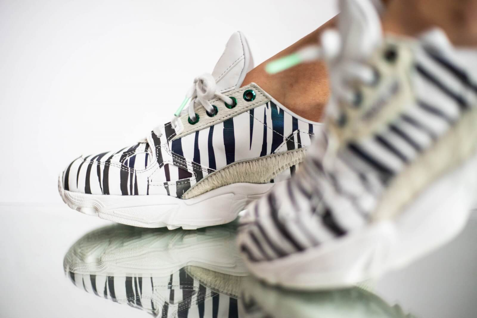 Adidas Women's Falcon Out Loud Crystal White