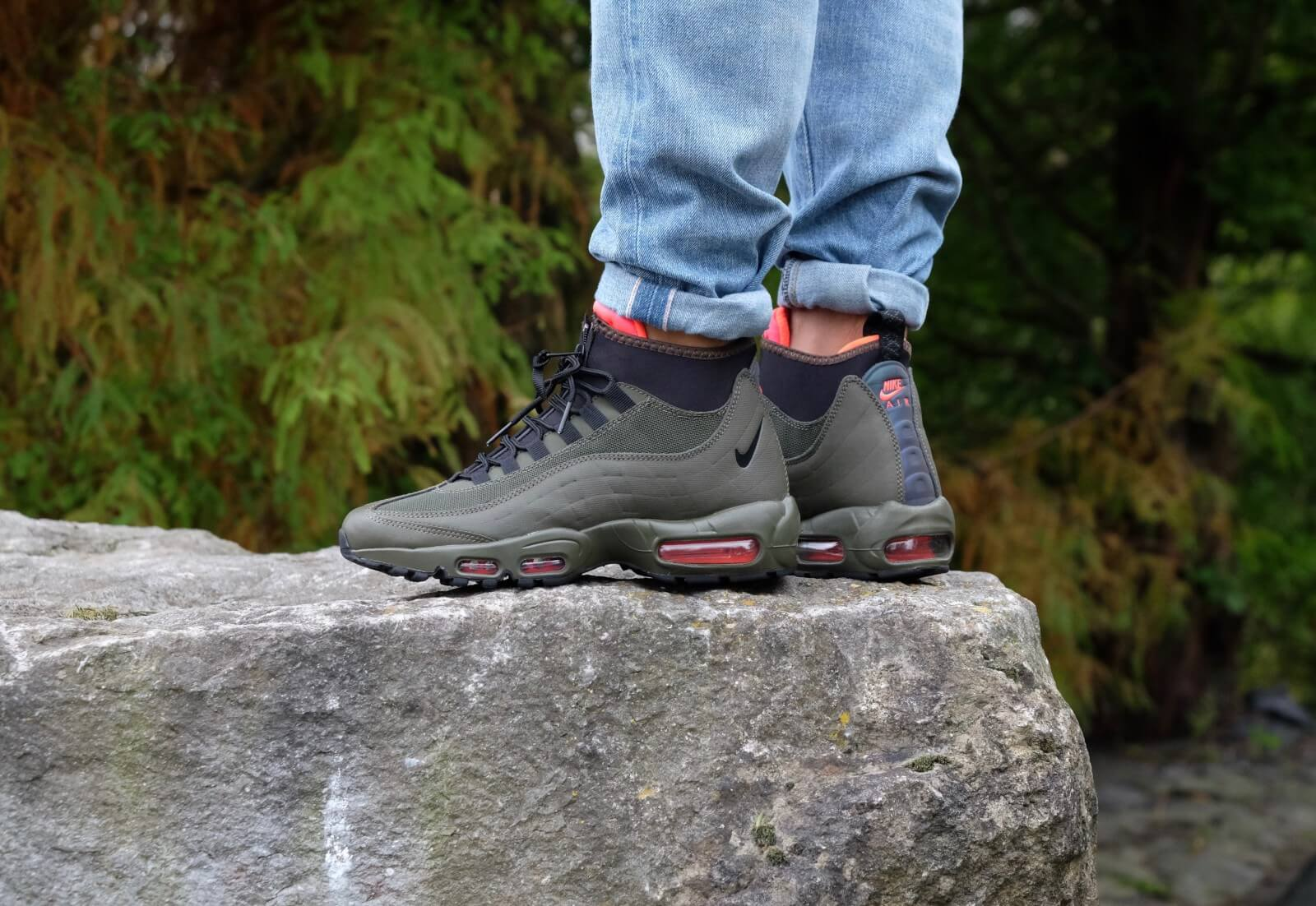 Nike Air Max 95 Sneakerboot Dark LodenBlack 806809 300