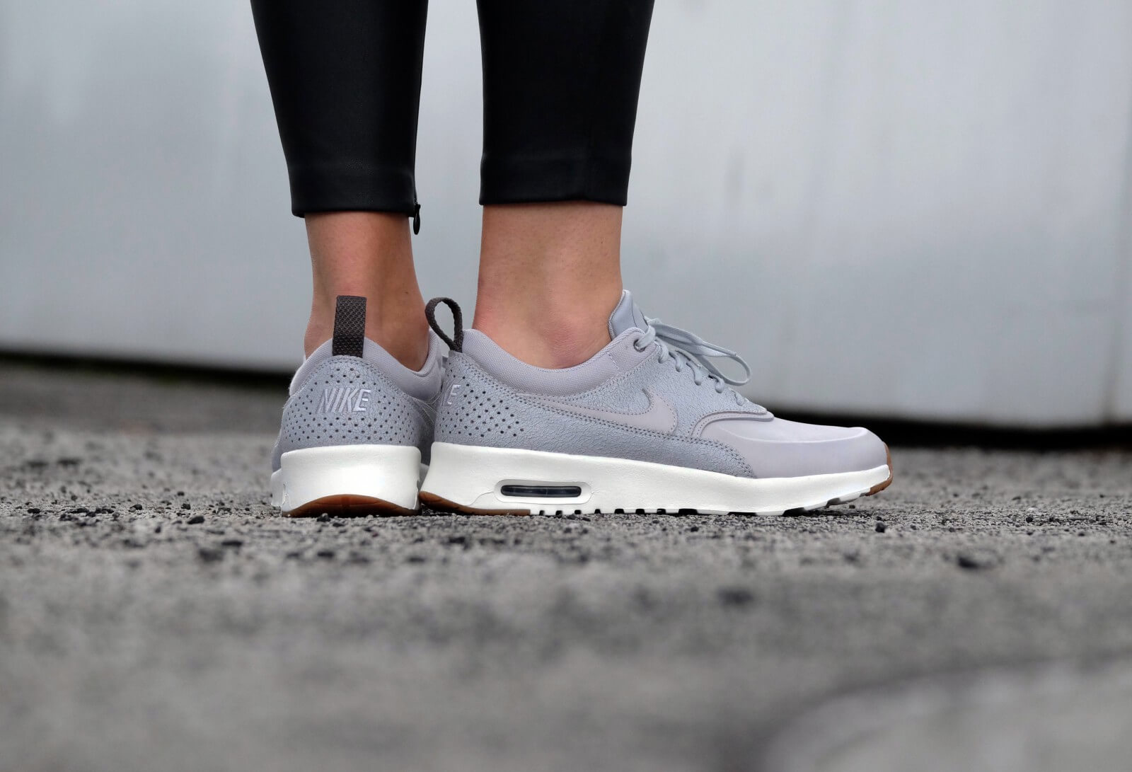 Nike WMNS Air Max Thea PRM Wolf GreyWolf Grey Sail Midnight Fog 616723 013