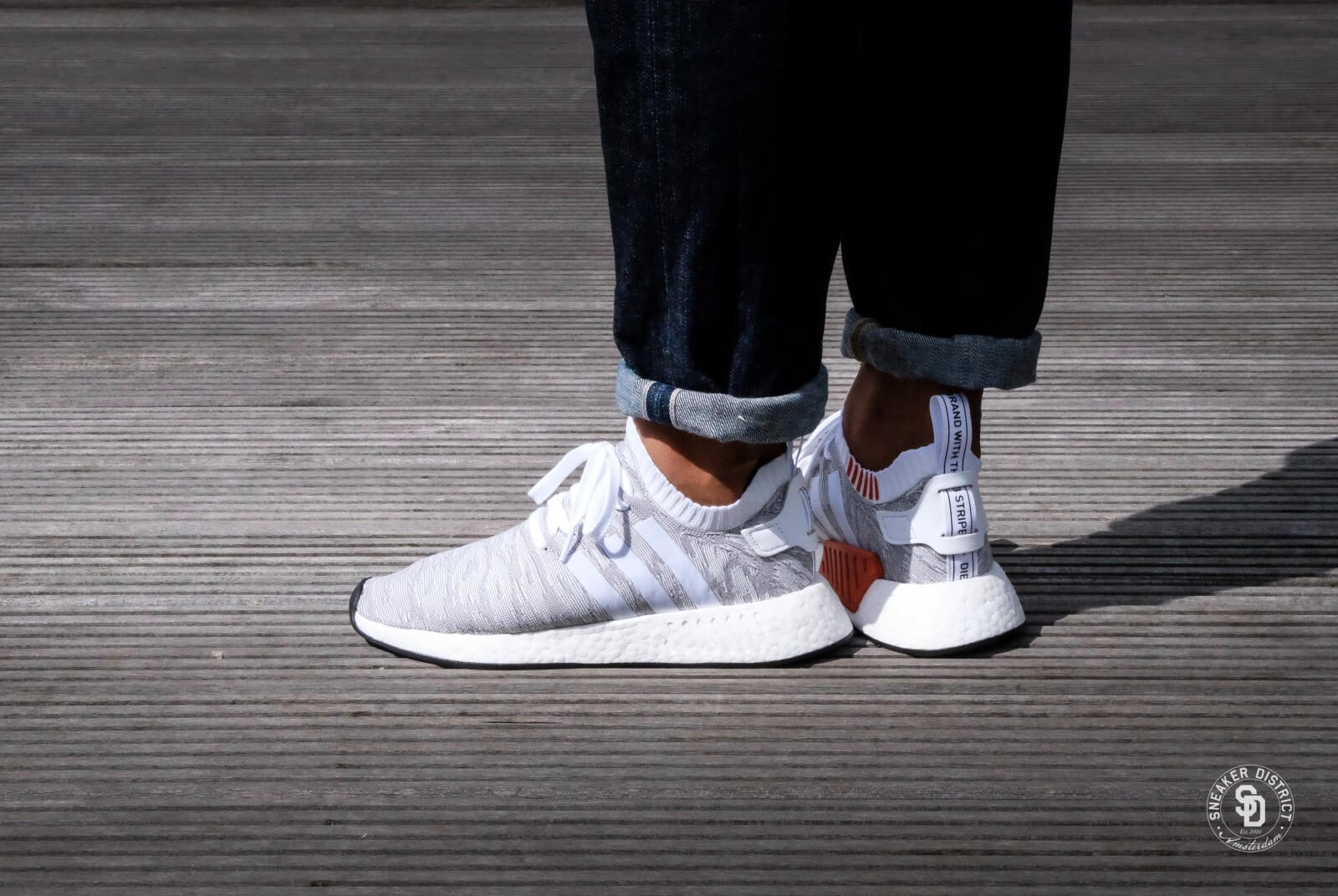 Adidas NMD R2 PK Footwear White Core Black BY9410