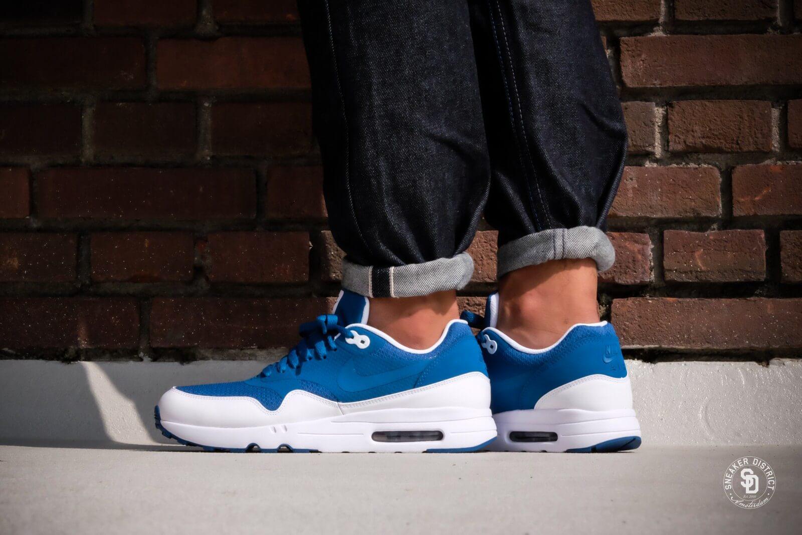 Nike Air Max 1 Ultra 2.0 Essential Industrial Blue | Footshop