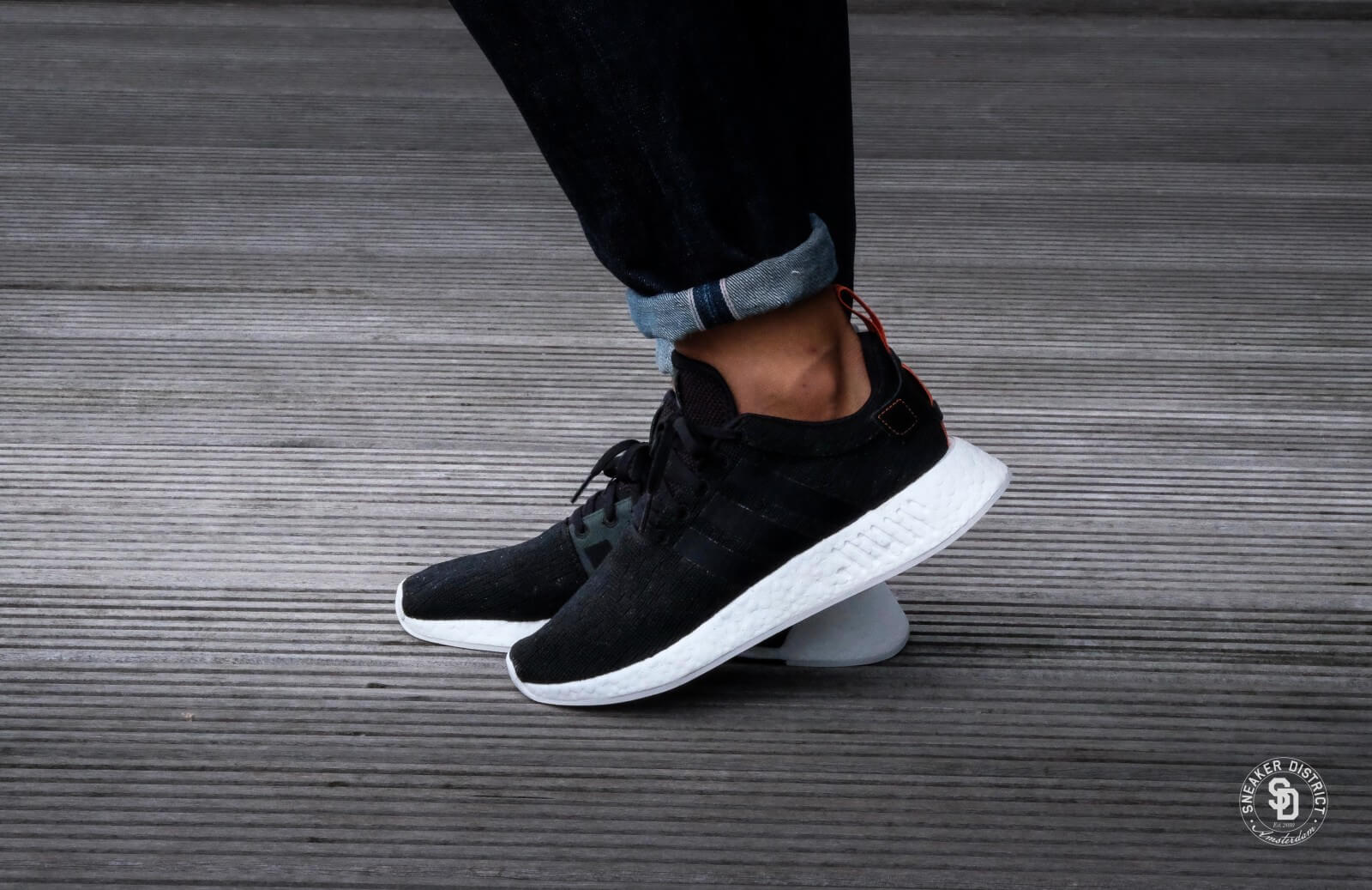 buy popular 80a02 2ec66 adidas nmd r2 black future harvest primeknit