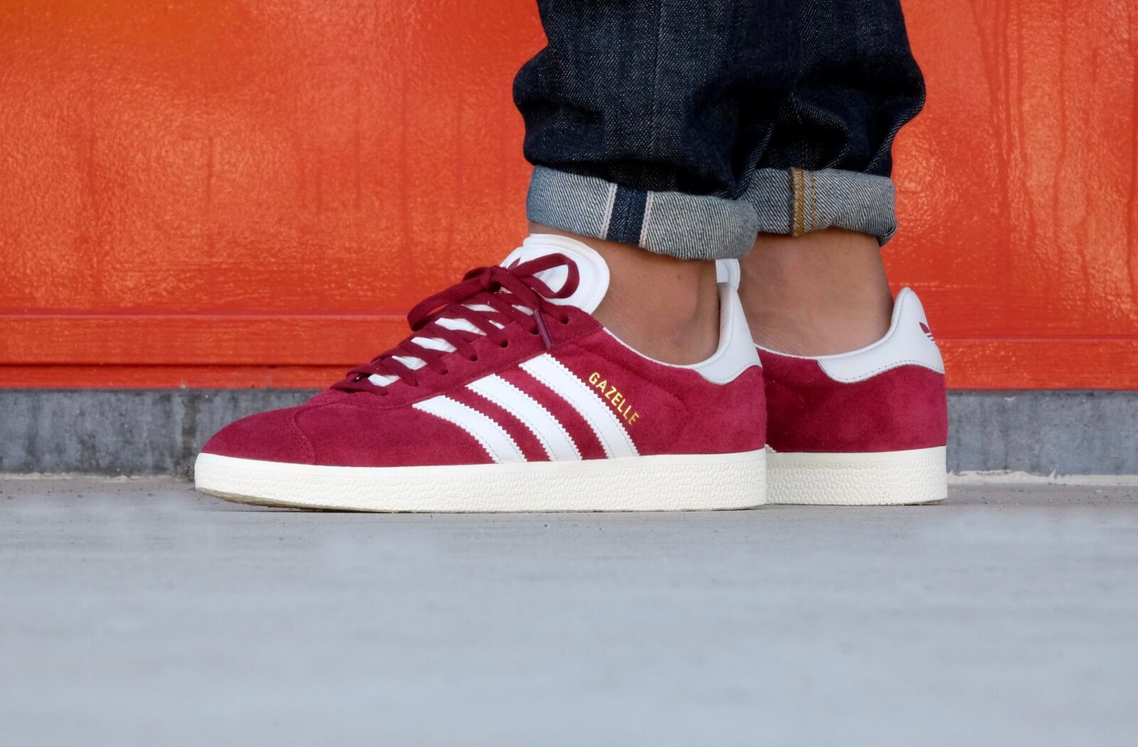 The adidas Gazelle Gets Covered In Collegiate Burgundy