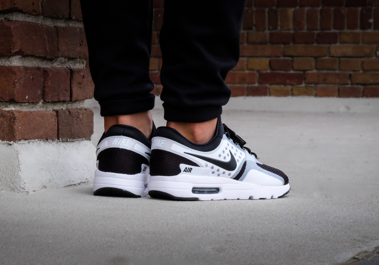 cheap for discount 5f127 00327 ... discount nike air max zero essential white black f50b7 bb680