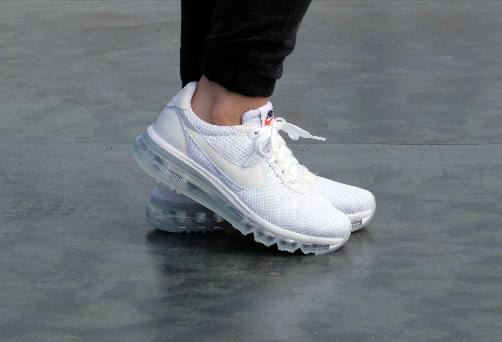 Nike WMNS Air Max LD Zero WhiteWhite White 896495 100